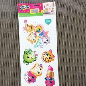 Shopkins Wall Art Stickers -7 Brand new!